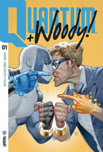 Image: Quantum and Woody [2017] #1 (cover A - Tedesco) - Valiant Entertainment LLC