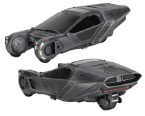 Image: Cinemachines Blade Runner 2049 6-inch Spinner Vehicle Assortment  - Neca