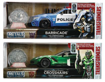 Image: Metals Transformers Movie 1/24 Vehicle Assortment  - Jada Toys, Inc