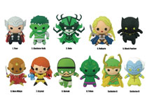 Image: Marvel Series 9 Laser Cut Figural Keyring 24-Piece Blind Mystery Box Display  - Monogram Products