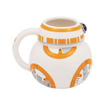 Image: Star Wars Ceramic Sculpted Mug: BB-8  (18-ounce) - Vandor LLC