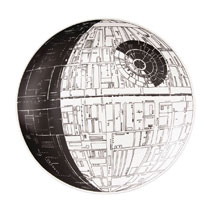 Image: Star Wars Serving Dish: Death Star  - Vandor LLC