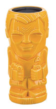 Image: Star Trek the Original Series Geeki Tiki Glass: Captain Kirk  - Beeline Creative Inc.