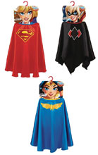 Image: DC Superhero Girls Cape Assortment  - Jakks Pacific