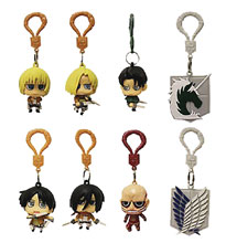 Image: Attack on Titan: Hanger Figures 24-Piece Blind Mystery Box Display  - Ucc Distributing