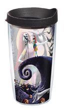 Image: Nightmare Before Christmas Tumbler  (w/Black Lid) (16-ounce) - Tervis Tumbler Co.