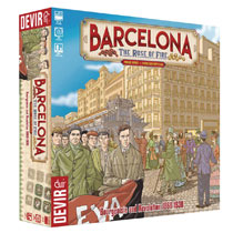 Image: Barcelona: The Rose of Fire Board Game  - Devir Americas, LLC