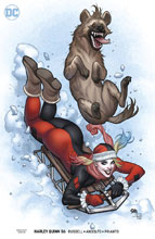 Image: Harley Quinn #56 (variant cover - Frank Cho) - DC Comics