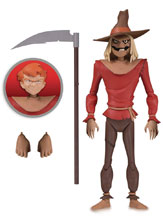 Image: Batman Animated Action Figure: Scarecrow  - DC Comics