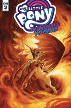 Image: My Little Pony: Nightmare Knights #3 (incentive cover - Meyer) (10-copy) - IDW Publishing