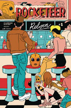 Image: Rocketeer Reborn #1 (main cover - Pulido) - IDW Publishing