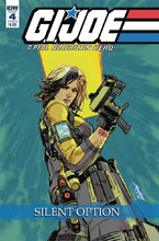Image: G.I. Joe: A Real American Hero - Silent Option #4 (cover B - Loh) - IDW Publishing