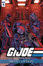 Image: G.I. Joe: A Real American Hero - Silent Option #4 (incentive cover - Gallant) (10-copy)  [2018] - IDW Publishing