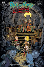 Image: Rick and Morty vs. Dungeons & Dragons #4 (incentive cover - Fowler) (20-copy)  [2018] - IDW Publishing