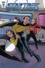 Image: Star Trek: The Next Generation: Terra Incognita #6 (cover A - Shasteen) - IDW Publishing