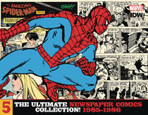 Image: Amazing Spider-Man Ultimate Newspaper Comics Vol. 05: 1985-1986 HC  - IDW Publishing