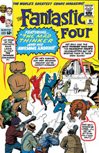 Image: True Believers: Fantastic Four - Mad Thinker Droid #1 - Marvel Comics
