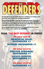 Image: Defenders: The Best Defense #1  [2018] - Marvel Comics
