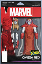 Image: Uncanny X-Men #6 (variant Action Figure cover - Christopher) - Marvel Comics