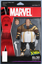 Image: Uncanny X-Men #7 (variant Action Figure cover - Christopher) - Marvel Comics