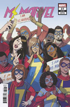 Image: Ms. Marvel #37 (variant cover - McKelvie) - Marvel Comics