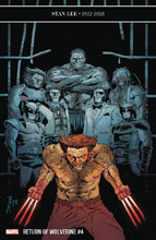 Image: Return of Wolverine #4 (variant cover - Shalvey) - Marvel Comics