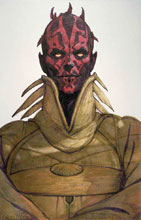 Image: Star Wars: Age of Republic - Darth Maul #1 (variant Design cover - McCaig) - Marvel Comics