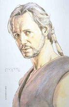 Image: Star Wars: Age of Republic - Qui-Gon Jinn #1 (variant Design cover - McCaig) - Marvel Comics