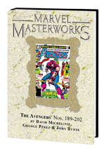Image: Marvel Masterworks Avengers Vol. 19 HC  (DM variant cover) (273) - Marvel Comics