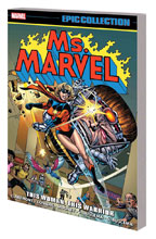 Image: Ms. Marvel Epic Collection: This Woman, This Warrior SC  - Marvel Comics
