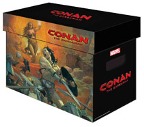 Image: Marvel Graphic Comic Boxes Conan Barbarian  (Bundle of 5) - Marvel Comics