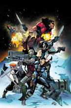 Image: X-Force #1 by Larraz Poster  - Marvel Comics