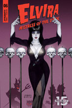 Image: Elvira: Mistress of the Dark #6 (cover A - Linsner) - Dynamite