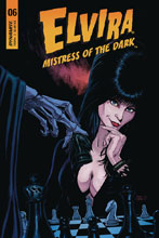 Image: Elvira: Mistress of the Dark #6 (cover B - Cermak) - Dynamite