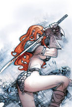 Image: Red Sonja Vol. 04 #24 (incentive cover - Moritat virgin) (20-copy) - Dynamite