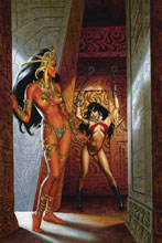 Image: Vampirella / Dejah Thoris #4 (incentive cover - Jusko virgin) (10-copy) - Dynamite
