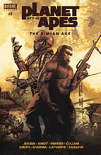Image: Planet of Apes: Simian Age #1 - Boom! Studios