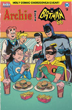 Image: Archie Meets Batman '66 #5 (cover C - Galvan) - Archie Comic Publications