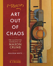 Image: Maxon: Art Out of Chaos SC  - Fantagraphics Books