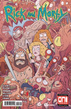 Image: Rick & Morty #45 (cover A - Marc Ellerby, Sarah Stern) - Oni Press Inc.
