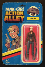 Image: Tank Girl: Action Alley #1 (cover B - Action Figure) - Titan Comics