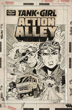 Image: Tank Girl: Action Alley #1 (cover D - Parson Artist edition) - Titan Comics