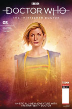 Image: Doctor Who: The 13th Doctor #3 (cover B - Brooks) - Titan Comics