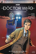 Image: Doctor Who: Road to the 13th Doctor #1 (variant cover - SDCC) - Titan Comics
