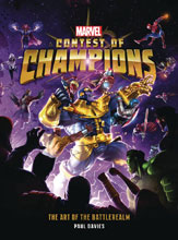 Image: Marvel Contest of Champions: Art of Battlerealm HC  - Titan Books