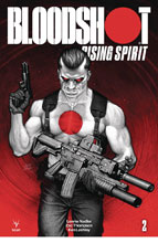 Image: Bloodshot: Rising Spirit #2 (cover B - Jones) - Valiant Entertainment LLC