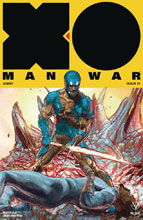 Image: X-O Manowar [2017] #22 (cover D incentive - Interlocking Guedes) (20-copy) - Valiant Entertainment LLC