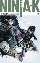 Image: Ninja-K #14 (cover C incentive - Programme Hutchinson) (20-copy) - Valiant Entertainment LLC