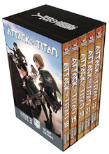 Image: Attack on Titan Season Three Box Set Vol. 02  - Kodansha Comics