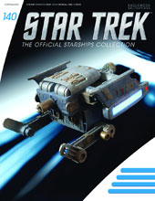 Image: Star Trek Official Starships Collection: Federation Tug #140 - Eaglemoss Publications Ltd